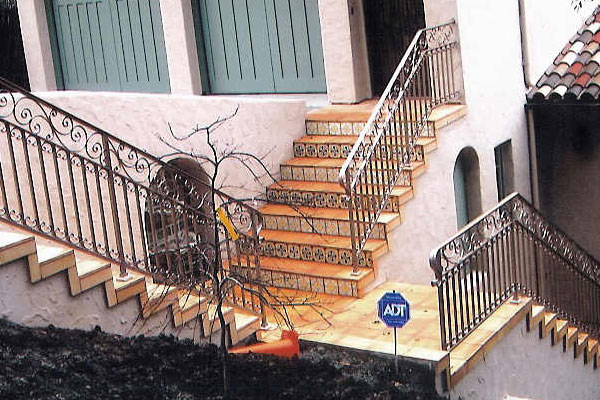 Wrought Iron Railings - San Mateo