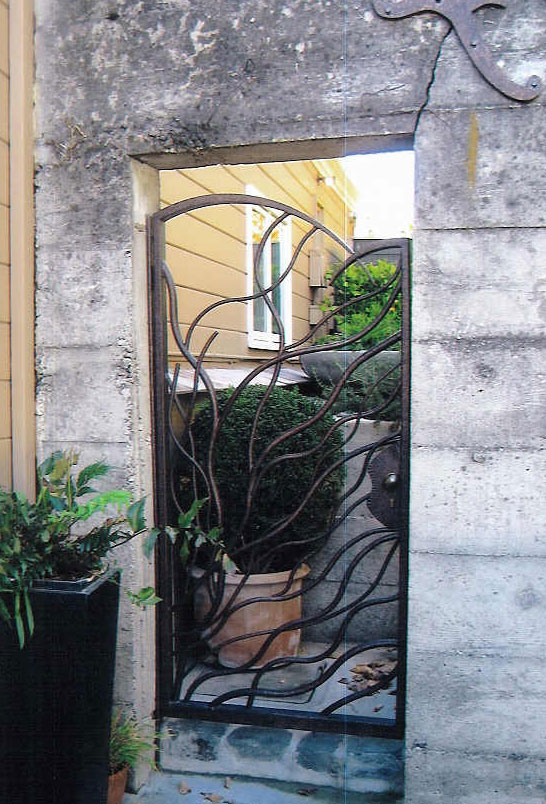 Ornamental Wrought Iron Gate - San Mateo